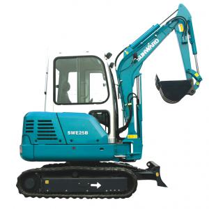 Mini-Escavadora 2.5 toneladas com giro