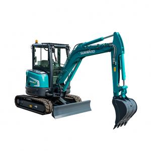 Mini-Escavadora 3.5 toneladas giro-zero